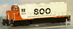 Bachmann US66304 DCC Sound Soo Line EMD GP40 #4603 - reduced